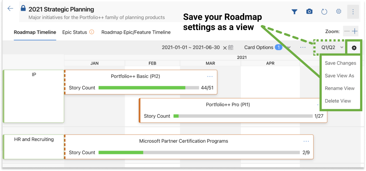 Figure 8.5 - portfolio-pp extension: save view